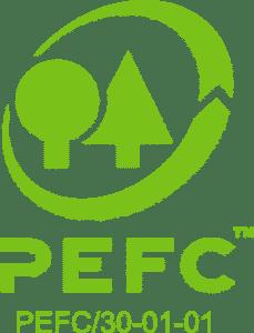 Al ons Douglashout is van PEFC hout